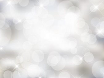 White bokeh background in bright style