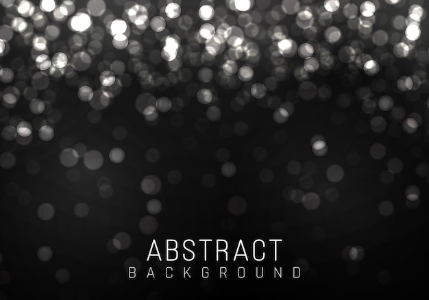 White bokeh, silver lights, blurred bokeh light on transparent background. abstract glitter defocused blinking stars and sparks.