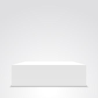 白い箱。 。