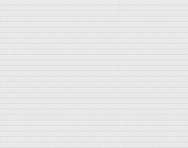 흰색 벽돌 벽입니다. 배경
