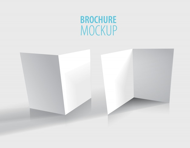 白のパンフレットのデザインはグレーに分離されました。