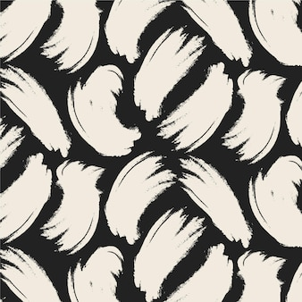 White brush strokes pattern template