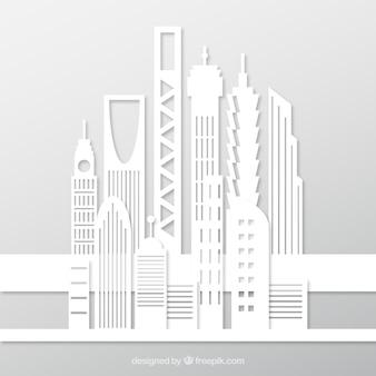 ホワイト建物