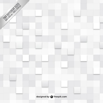 White checkered background