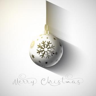 ぶら下げ安物の宝石クリスマスの背景