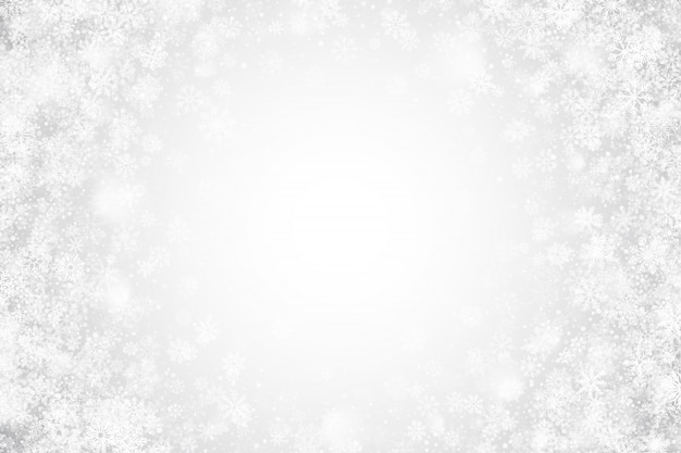 White christmas clear abstract background