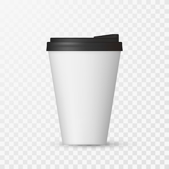 White coffee cap mock up.