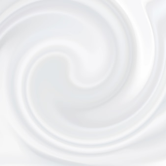 White cream. cosmetic product, liquid texture milky, cream, white soft mousse.