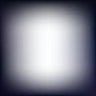 White and dark blurred background