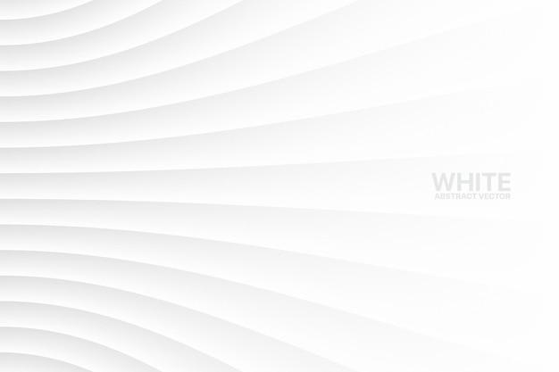 白い歪んだ線空白の幾何学的なビジネス抽象的な背景