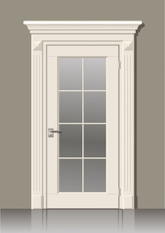 White door in the wall