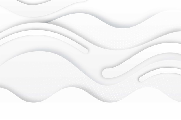 White elegant texture background with waves