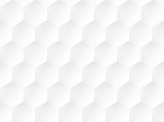 White embossed honeycomb pattern. ui background. vector illustration