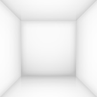 White empty room