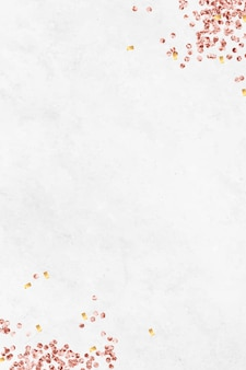 White festive background template