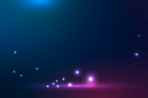 Bagliori bianchi su sfondo blu scuro