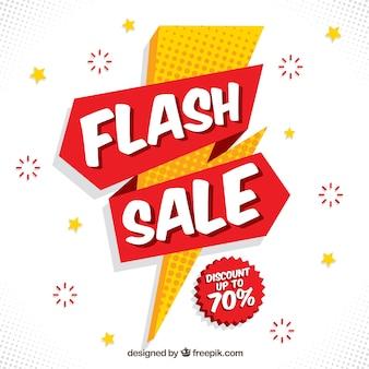White flash sale background
