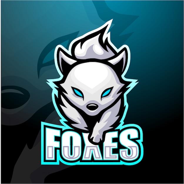 White foxes mascot esport
