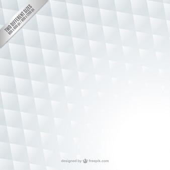 White geometric background Free Vector
