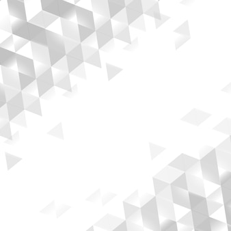 白い幾何学的背景