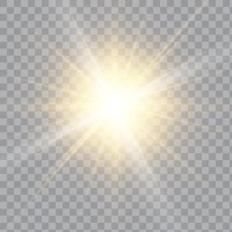 白いキラキラ波抽象的なイラスト