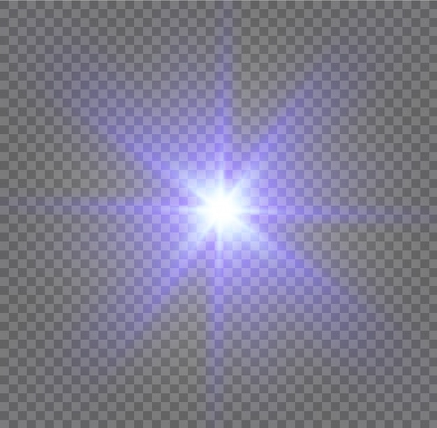 White glowing light burst explosion with transparent.  illustration for cool effect decoration with ray sparkles. bright star. transparent shine gradient glitter, bright flare.