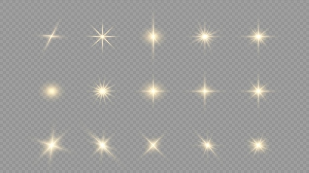 흰색 빛나는 빛이 광선으로 투명하게 폭발합니다.