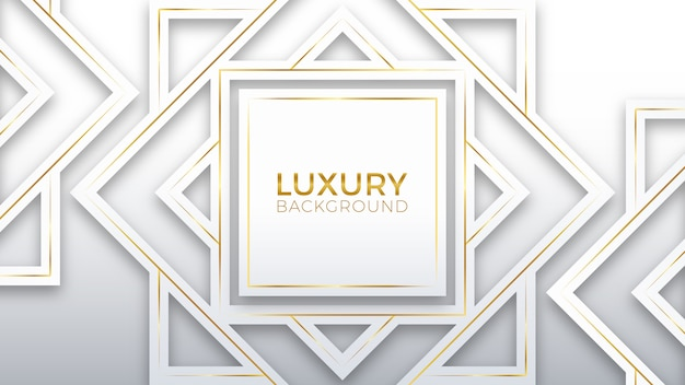 White gold luxury background