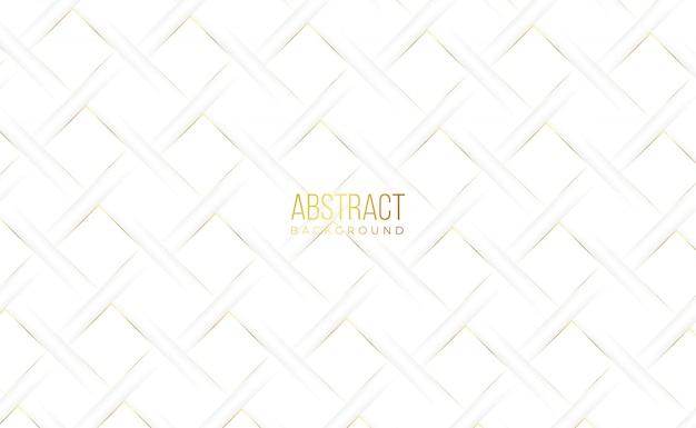 白い黄金の抽象的なロイヤル背景