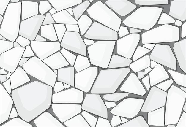 Текстура белого гравия