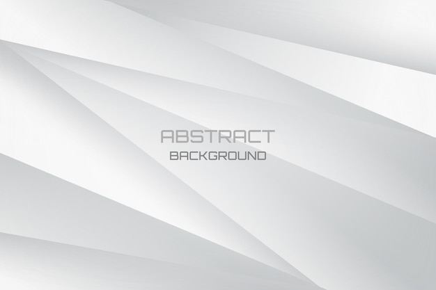 White and gray abstract modern cover and banner background