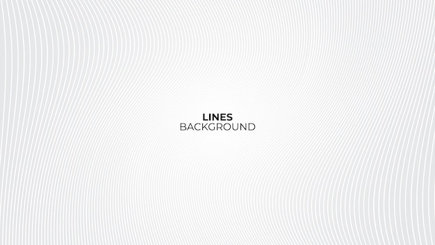White and gray background with wave lines pattern