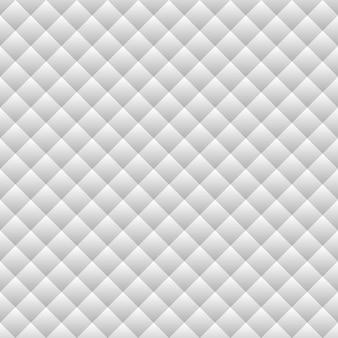 Белые серые чистые квадраты текстуры с бесшовным геометрическим рисунком вектора тени