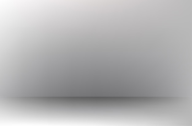 White grey gradient background empty room studio