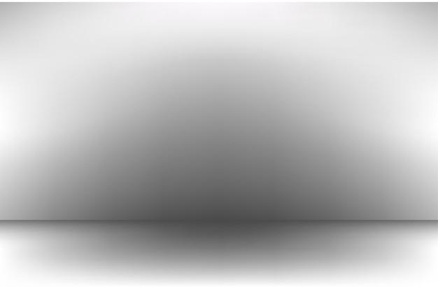 흰색 회색 그라데이션 배경 빈 방 스튜디오