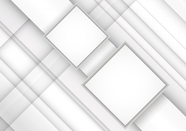 White grey stripes. geometric technology abstract background.