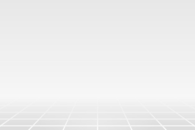 White grid line on a gray background