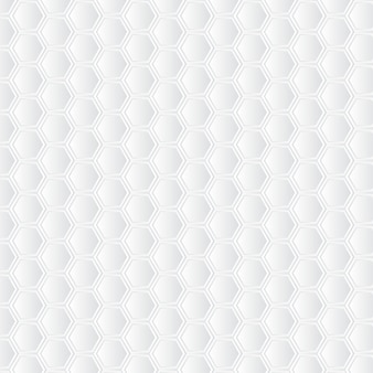 White honeycomb background