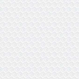 白いハニカム背景