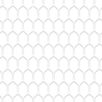 Белый сотовый узор фона