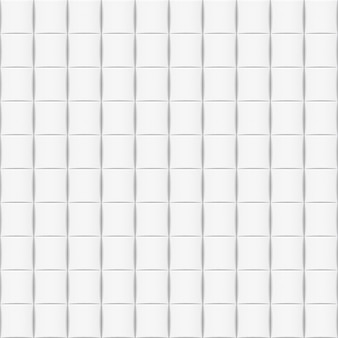 White horizontal background with tiles. seamless pattern