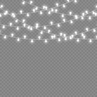 White light garland led neon lights christmas decorations