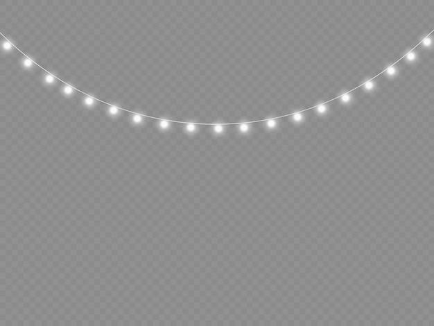 백색광 화환 led 네온 불빛