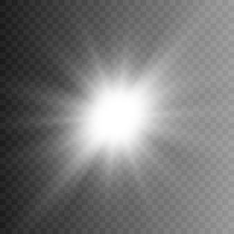 White light, rays of light. white flash png. light, lighting.