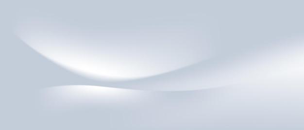 Белые линии украшают голубой фон в современном стиле, векторная иллюстрация абстрактной графики