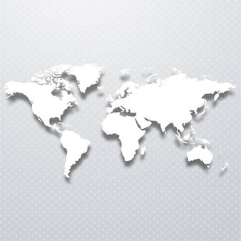 Mappa del mondo di fondo