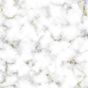 White marble vector texture. abstract golden glitter marbling background.