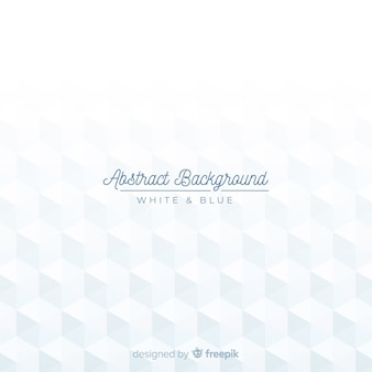 White modern abstract background with geometric shapes