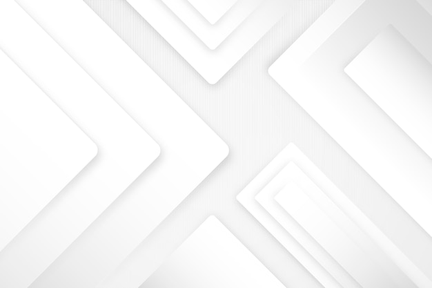 Белый монохромный фон в стиле градиента