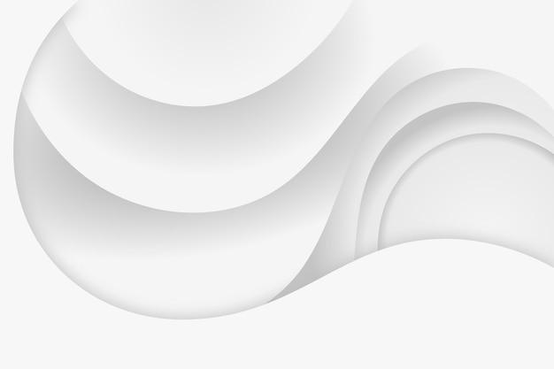 白のモノクロ背景スタイル 無料ベクター